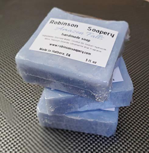 Handmade Soap, Vegan Soap, Clean Scent, Zero Waste Option - Amazon Falls