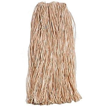 Rafia plástico adulto hierba falda - 89cm: Amazon.es: Juguetes y ...