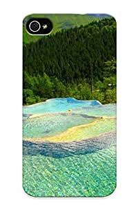 Ideal Standinmyside Case Cover For Iphone 4/4s(beautiful Pools And Forest), Protective Stylish Case