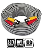 Night Owl Security 60-Feet 1080p HD Extension Cable (1 pack)