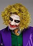 Magic Box Tamaño Adulto desordenado Verde La Peluca Estilo Joker