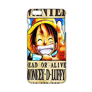 2015 Ultra Thin 3D Case Cover Cartoon Anime Oone Piece Phone Case for iPhone6 plus