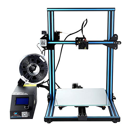 Hot Rod Hobby - Comgrow CR-10S Creality 3D Printer with Filament Monitor and Dual Z Rod Screws 300x300x400mm