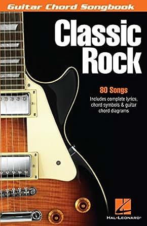 Amazon.com: Classic Rock Songbook: Guitar Chord Songbook eBook ...