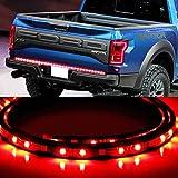 "iJDMTOY® 60"" Red/White LED Tailgate LED Light Bar w/ Turn Signal, Backup Reverse"