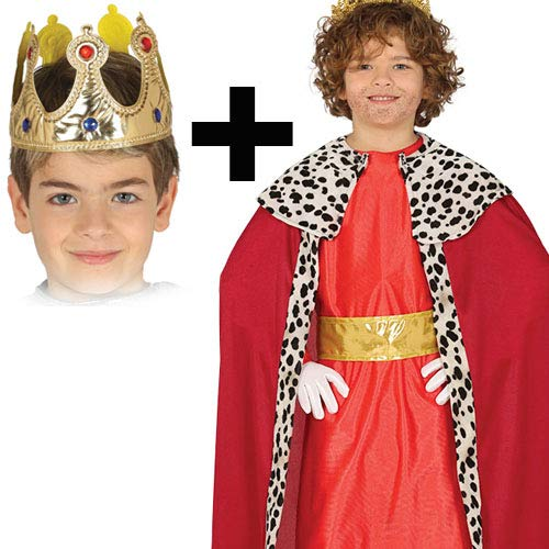 Boys rosso Wise Uomo + Crown 3-4 Years
