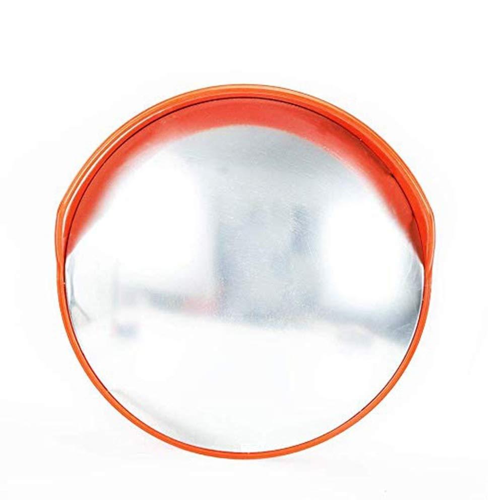 Geng カーブミラーコンベックスミラーラウンド屋外スーパー交通安全死角広角レンズ、盗難防止凸ボール盗難防止交通ミラー 45cm  B07TW8HPRB
