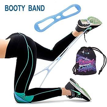Amazon Com Starktape Booty Belt Resistance Bands Set Of 2