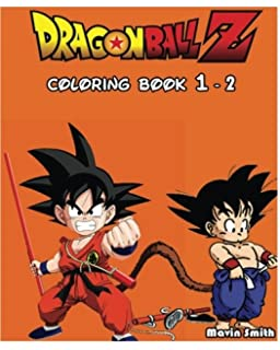 Dragonball Z Goku Coloring Book Vol 1 Coloring Book Yukai Akio