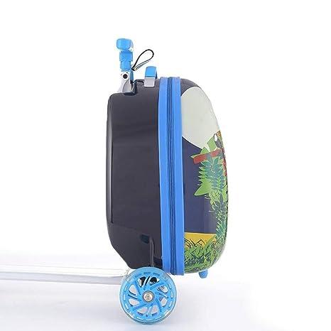 Amazon.com: SODKK Scooter con maleta de equipaje, maleta de ...