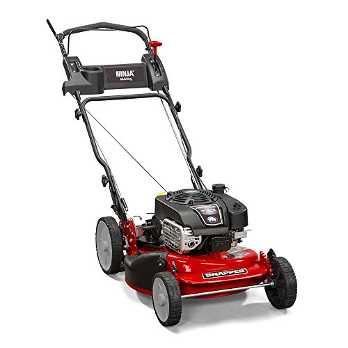 Snapper-RP2185020-7800981-NINJA-190cc-3-N-1-Rear-Wheel-Drive-Variable-Speed-Self-Propelled-Lawn-Mower-with-21-Inch-Deck-and-ReadyStart-System-Ninja-Mulching-Blade-and-7-Position-Heigh-of-Cut