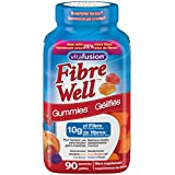 Vitafusion Fiber Well Gummies, 3 Fruit Flavours, 90 Count