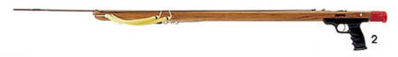 Riffe Competitorシリーズチーク材Speargun B01H2HRNA8   #2 (45