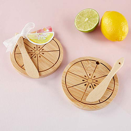 - Kate Aspen Citrus Cheeseboard & Spreader (12 Sets) | Hostess Gift, Guest Gift, Party Souvenir, Party Favor or Decorations for Weddings, Bridal Showers, Baby Showers & More