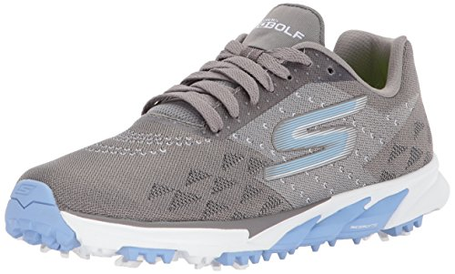 Skechers Performance Women's Go Golf Blade 2 Golf Shoe,Charcoal/Blue,6.5 M US