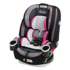 The Graco 4Ever 4-in-1 Car Seat gives you 10 years with one car seat. It's comfortable for your child and convenient for you as it transitions from rear-facing infant car seat (4-40 lb) to forward-facing 5-point harness seat (22-65 lb) to hig...