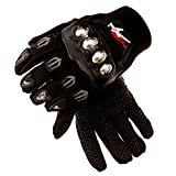 Platinum UMD Steel Knuckle Motorcycle Motorbike Power sports Racing Tactical Paintball Gloves Protective Gear