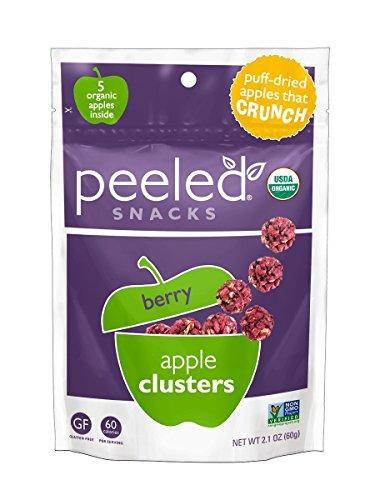 Peeled Organic Snacks Apple Clusters product image