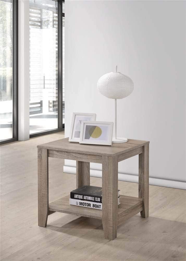 Progressive Furniture Barry End Table, Gray