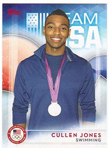 2016 Topps US Olympic Team USA Hopefuls #52 Cullen Jones Swimming