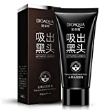 Bioaqua Black Mask Nose Acne Blackhead Remover Peel Mud Deep Cleaning Anti Aging Facial Mask,(2.11 oz)