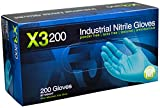 AMMEX - X3D49100-BX - Nitrile Gloves - Disposable, Powder Free, Latex Free, ...