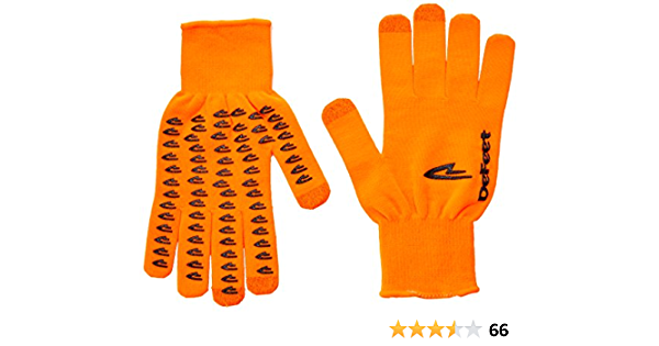 Charcoal DeFeet DuraGlove ET Wool Gloves Large