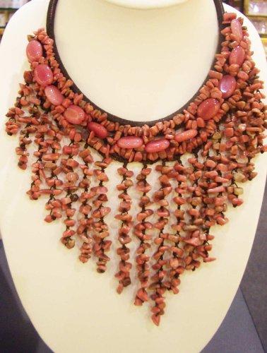 Costume-Jewelry-Necklace-Cheap-Jewelry-Semi-Precious-Stone-with-Chochet-Handmade-Pn001-p