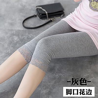 GaoXiao super mince élastique lace sept noir,m grey