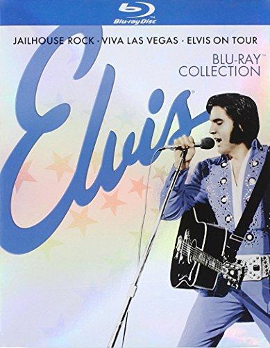 Elvis Collection (Jailhouse Rock / Viva Las Vegas / Elvis on Tour) [Blu-ray]