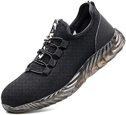 JIEFU Chaussures de Sécurité Homme Femme s3 Basket de