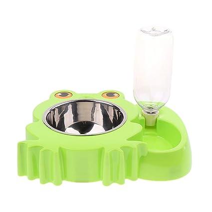 perfk Alimentador Automático Perro Mascota Gato Bebedor de Agua Cuenco Comida Cómodo - Estilo 3