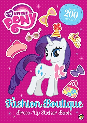 Childrens Designer Boutique (Fashion Boutique Dress-Up Sticker Book (My Little)