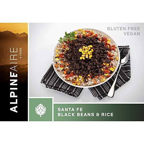 Alpine Aire Foods Santa Fe Black Beans and Rice (Serves 2)