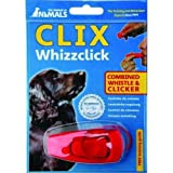 Clix Whizzclick Combined Whistle Clicker Dog Puppy Training Obedience Behaviour
