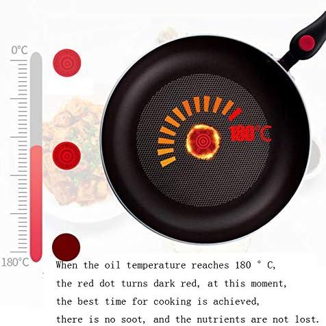 NYDZDM -Poêle à Steak Poêle à Frire antiadhésive, Plaque à Frire Universelle pour cuisinière à gaz Plaque à Omelette