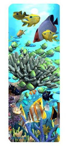 UPC 820492160125, 1 X Coral Garden, 3-D Bookmark with Tassel