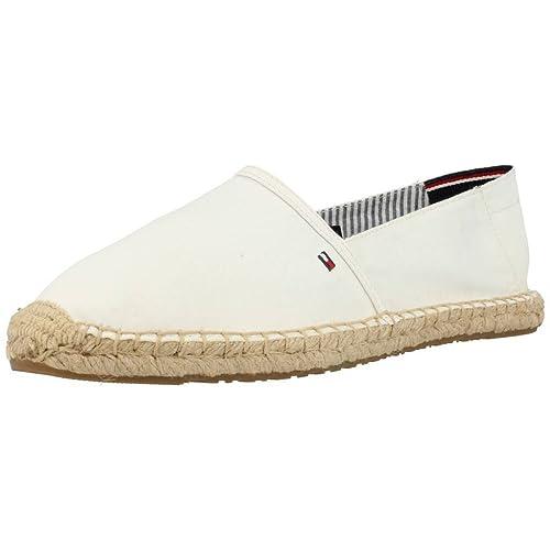Alpargatas para mujer, color Blanco , marca TOMMY HILFIGER, modelo Alpargatas Para Mujer TOMMY HILFIGER LANA 6D Blanco: Amazon.es: Zapatos y complementos
