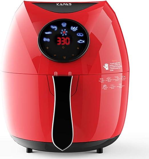 Amazon.com: KAPAS - Freidora de aire eléctrico, 4.8 cuartos ...