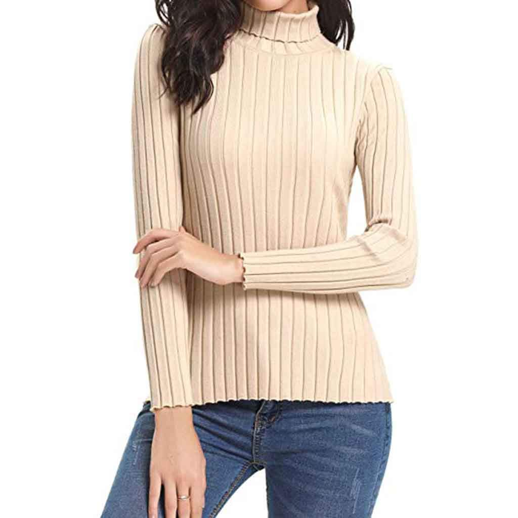 HULKAY Womens Upgrade Long Sleeve Solid Lightweight Soft Knit Mock  Turtleneck Sweater Tops Pullover Boho at Amazon Women s Clothing store  200116989