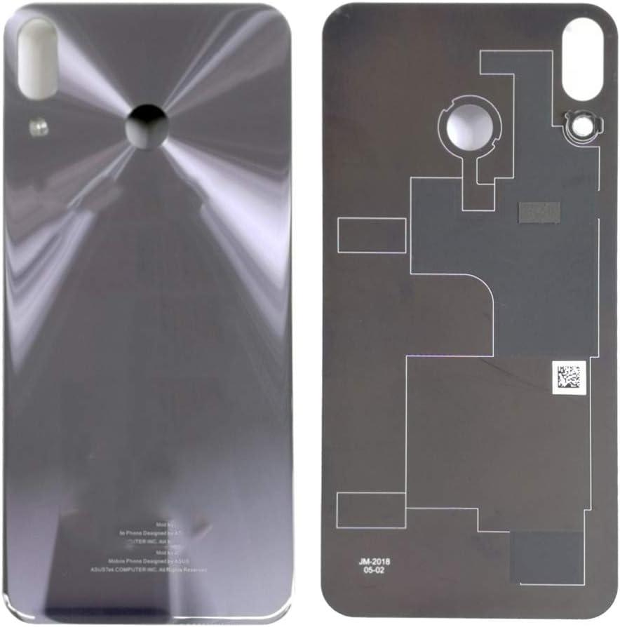 soliocial Trasera Tapa de Batería Battery Cover para ASUS Zenfone 5 ZE620kl X00QD / Zenfone 5Z ZS620KL Z01RD Silver: Amazon.es: Electrónica