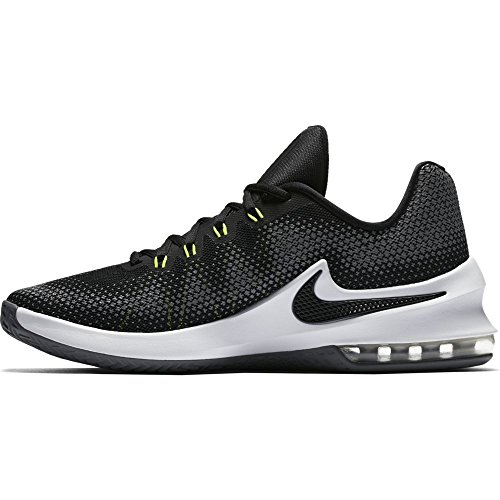 Nike NIKE AIR MAX INFURIATE LOW - Zapatillas deportivas, Hombre, Negro - (Black/White-Volt-Cool Grey)