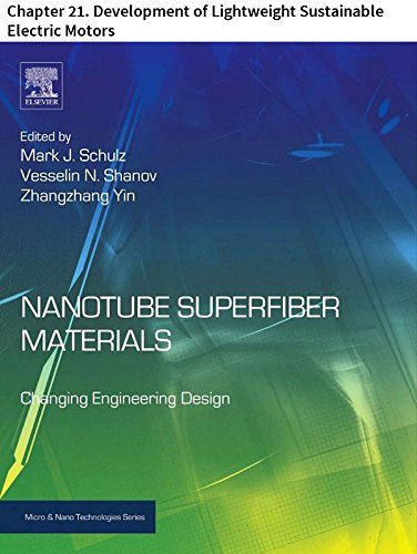 Nanotube Superfiber Materials: Chapter 21. Development of Lightweight Sustainable Electric Motors (Micro and Nano Technologies)