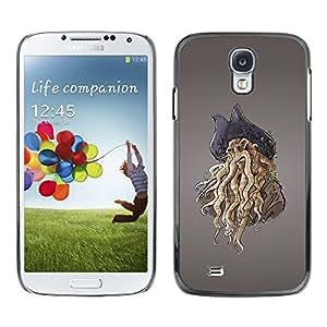 "For Samsung Galaxy S4 , S-type Monster Pirate"" - Arte & diseño plástico duro Fundas Cover Cubre Hard Case Cover"