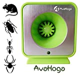 AvaHoga Ultrasonic Pest Control, Electronic Plug-In Repeller, Eco-friendly, Child and Pet Safe, Non-Toxic Repellent for Mice, Cockroaches, Ants, Rodents, Spiders, Roaches, Bugs and Insects
