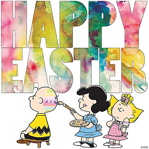 - Charlie Brown Happy Easter Iron On for T-Shirts & Other Light Color Fabrics #26