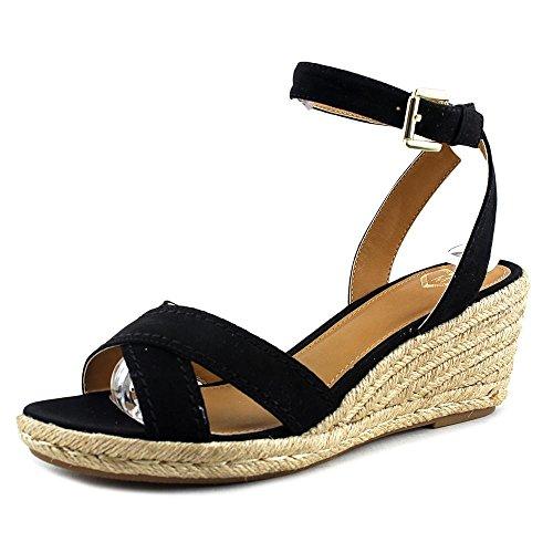 Madeline Lense Kvinner Oss 6,5 Svart Kile Sandal