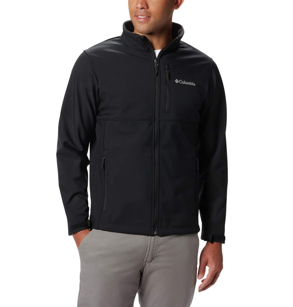 Columbia Men's Ascender Softshell Jacket, Water & Wind Resistant by Columbia