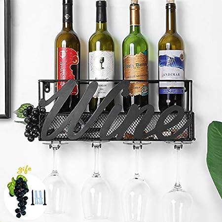 💝 DISEÑO EXQUISITO - Este botellero de vino se ve más elegante y hermoso con un creativa estructura