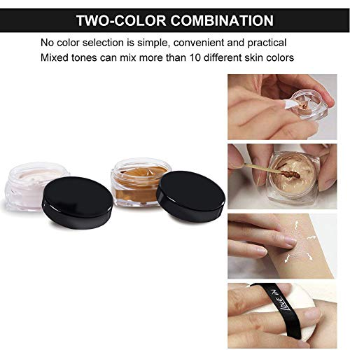 Concealer Set for Tattoo Cover Up Makeup Waterproof, Professional ...
